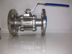 SS Flanged End Ball Valve