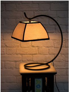 Asian Lantern Style Table Lamp