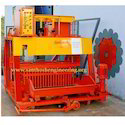 16 Block Semi Auto Egg Laying Concrete Block Making Machine