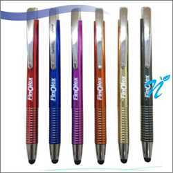 Plastic Ball Pen With Stylus