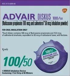 Advair Diskus (Salmeterol, Fluticasone) 500Mcg-100 Mcg