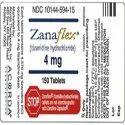 Zanaflex Tizanidine Tablet 4 mg/ 2 mg
