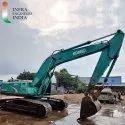 Used Kobelco SK210 excavator