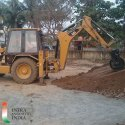 Backhoe Loader Compactor
