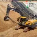 Excavator Drum Compactor Machine
