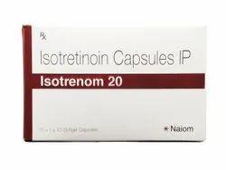 Isotretinoin 20mg - 1x10 - Isotretinoin Capsules