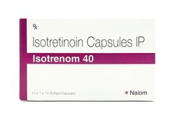 Isotretinoin 40 mg - 1x10 - Isotretinoin Capsules