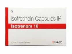 Isotrenom 10mg - 1x10 - Isotretinoin Capsules