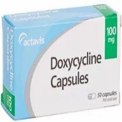 Doxycycline 100mg Capsules