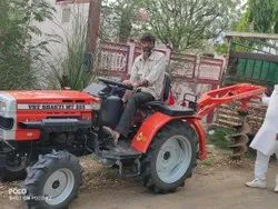 VST Tractor Post Hole Digger