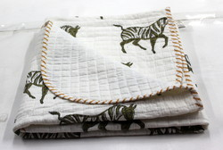 Handmade Kantha Baby Quilts