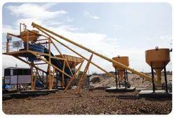 Compact Construction Grade Concrete Batching Plant