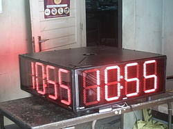 WiFi Synchronized Digital Clock