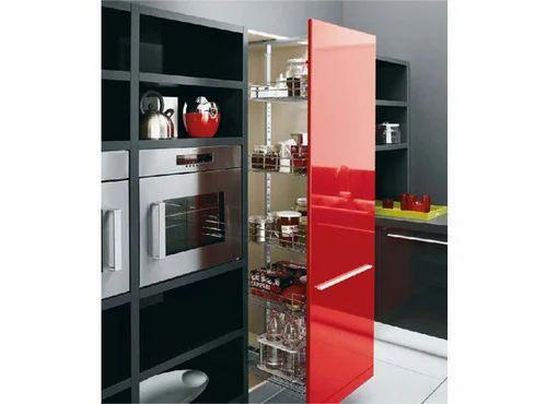 modular kitchen baskets designs. Kitchen Tall Unit Goldstar Interior Product  Rajkot Manufacturer of Stainless