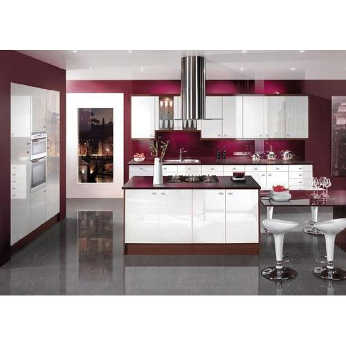 Aluminium Modular Kitchen At Rs 1100 Square Feet: Stylish Modular Kitchen Manufacturer