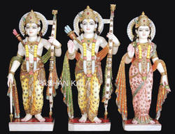 Stone Marble Ram Parivar
