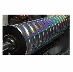 Holographic Metallic  Printable Films