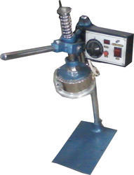 Laminate Foil Cap Sealing Machine