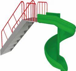 7 Step Spiral Slide