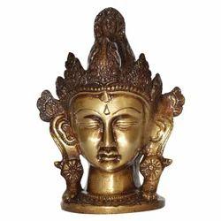 Brass Tara Face