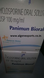 Cyclosporin Oral Solution USP 100mg/ml (Panimun Bioral)