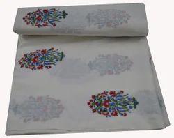 Hand  Block Printed 100 % Cotton Fabric