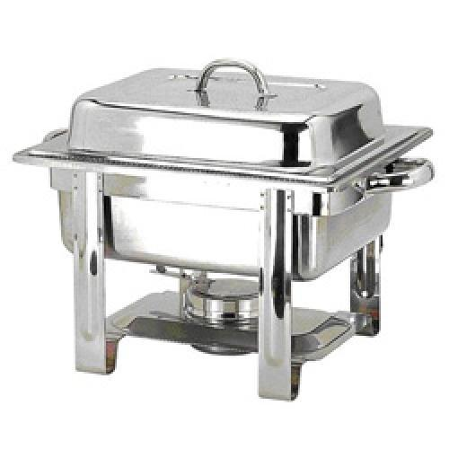 stainless steel chafing dish chafing dish rectangular roll top from new delhi