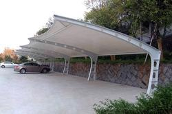 Tensile Membrane Structures For Parking Shades
