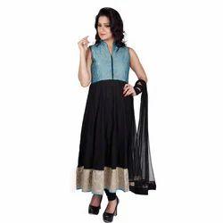 Resham Work Anarkali Suits