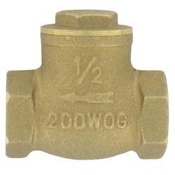 Series BFC Brass Flap Check Valve