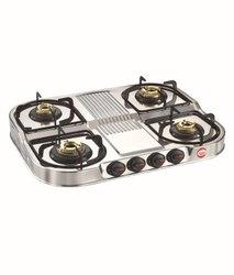 4 Burner Gas Stove MHA 455 Crown