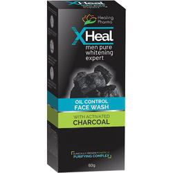 X- Heal Activated Charcoal Face Wash