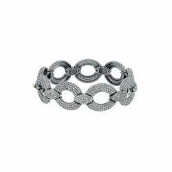 Pave Diamond Dangle Earrings