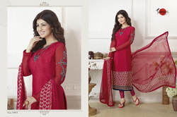 Full Sleeve Suhati Salwar Suit Fabric