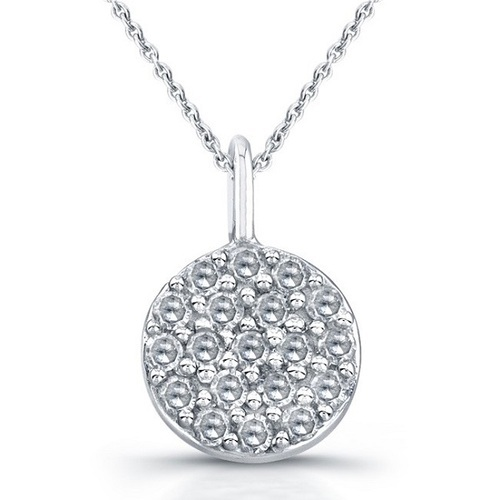 Pave diamond pendant at best price in india aloadofball Images