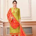 Cotton Churidar Dress Material