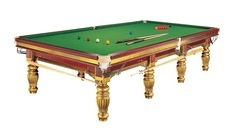 Snooker Table In Gold Legs