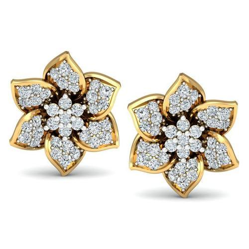 Nakshatra Diamond Earrings And Check Prices Online For