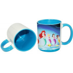 11oz Inner Rim Color Mug-Lt.Blue