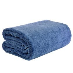 Velour Dobby Bath Towels