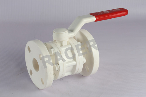 Flanged End PP Ball Valve