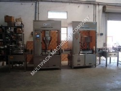 Dry Syrup Auger Filling Machine