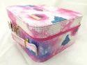 Shamax 1 Tray Small Cosmetic Box (Galaxy Pink)