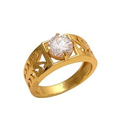 Single Stone Ring AD For Men And Women