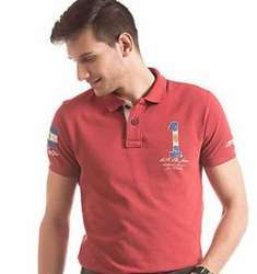 Mens Collar Tshirt