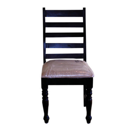 Black Wooden Cafe Chair