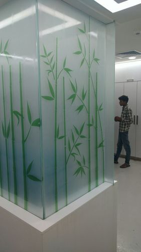 Printed Vinyl Glass Film Clear Print On Glass Manufacturer From