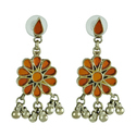 Earring 925 Sterling Silver Gemstones