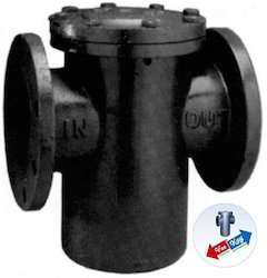 Cast Iron Strainer with Threaded Port