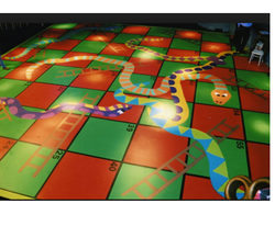 Snakes & Ladders Rubber Flooring